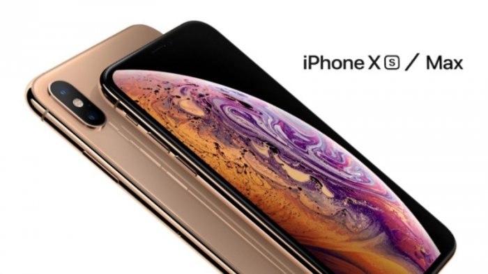 mobil iPhone Xs, Xs Max (foto: Apple, koláž: Timixi)