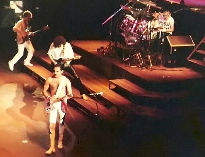 Queen, koncert 1984 (foto: Thomas Steffan, CC BY-SA 3.0)
