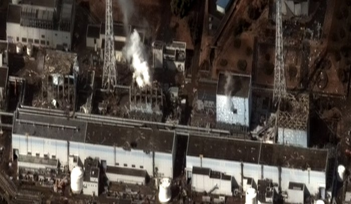 Fukushima Daiichi Nuclear Power Station - accident (photo: Digital Globe)