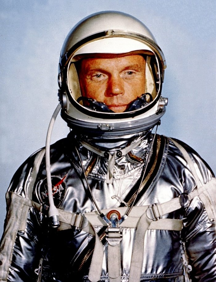 Astronaut John H. Glenn (foto: NASA Glenn Research Center, public domain)