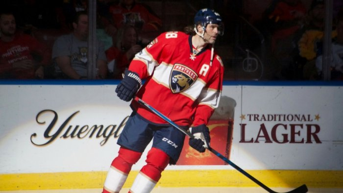 Jaromir Jagr in Florida Panthers jersey (photo: Corn Farmer / Flickr, CC BY-ND 2.0)