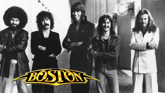 Boston - rock group (photo: poster, assembly: Timixi)