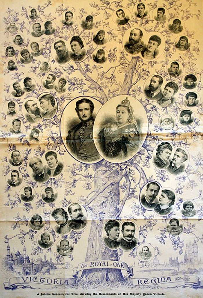 Queen Victoria (picture: family tree)
