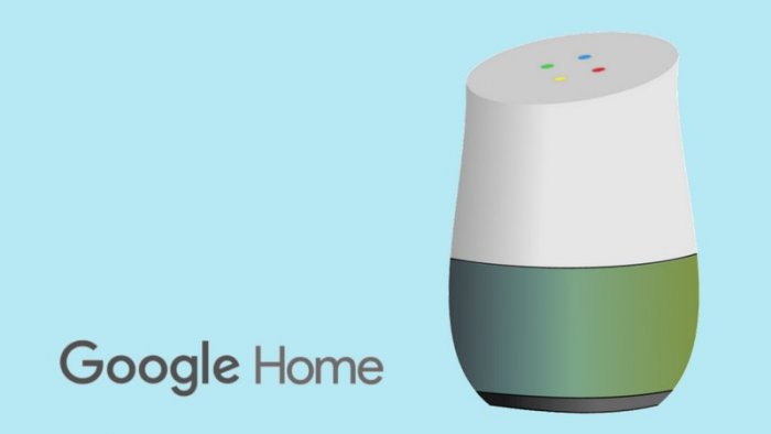 Google Home smart speaker (collage by Timixi, CC BY 3.0)