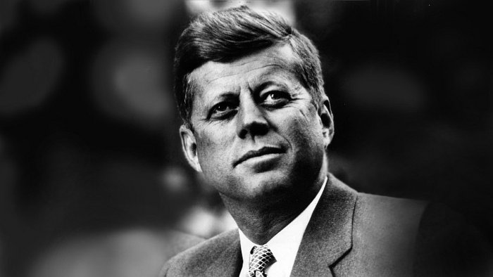 John F. Kennedy, president of the USA