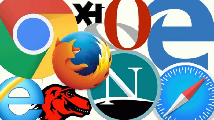 Internet browsers (assembly: Timixi, CC BY-NC-SA 4.0)
