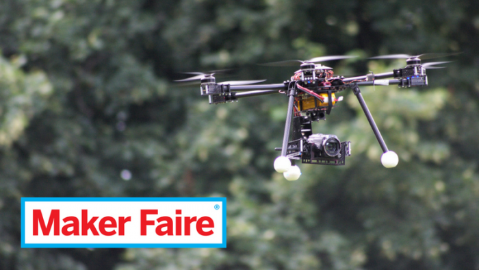 Maker Faire: Drone 1 (foto: Ethernum, CC BY-SA 2.0)