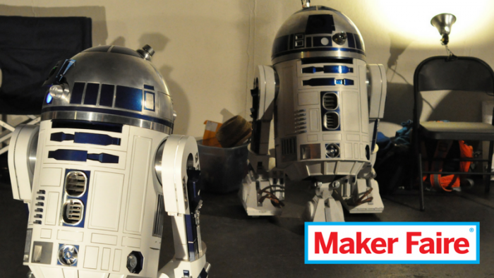 Maker Faire: R2-D2 roboti, Maker Faire 2011 (foto: Aforonda, CC BY-SA 2.0)