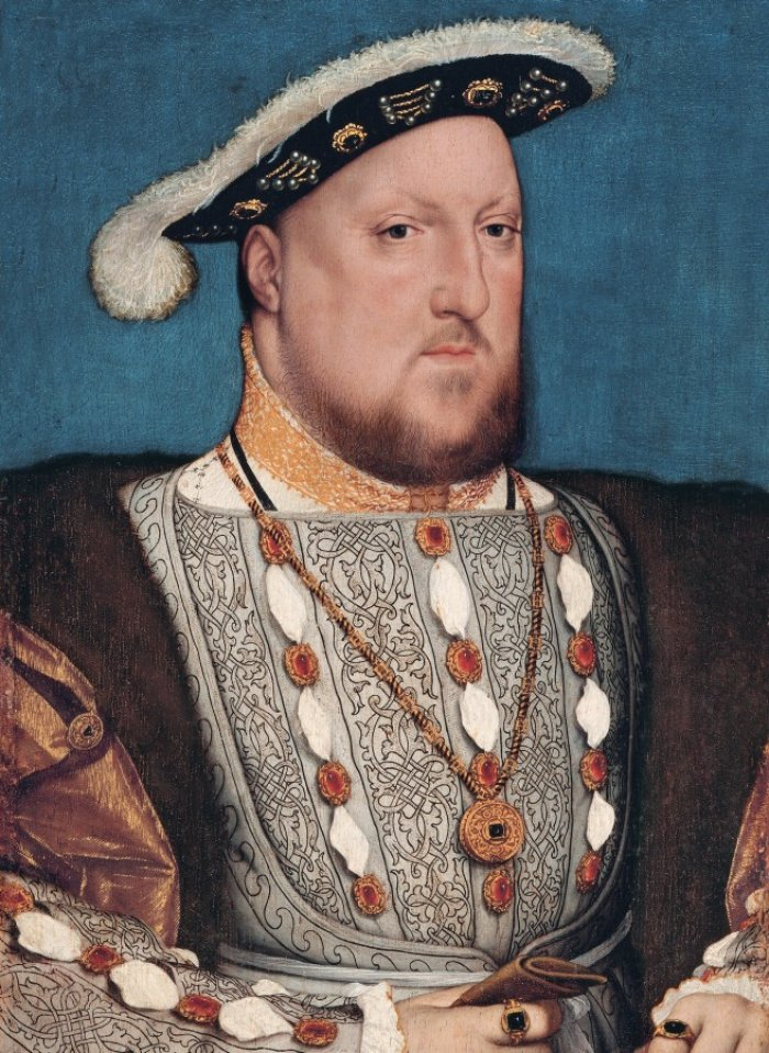 Henry VIII (painting: Hans Holbein jun.)