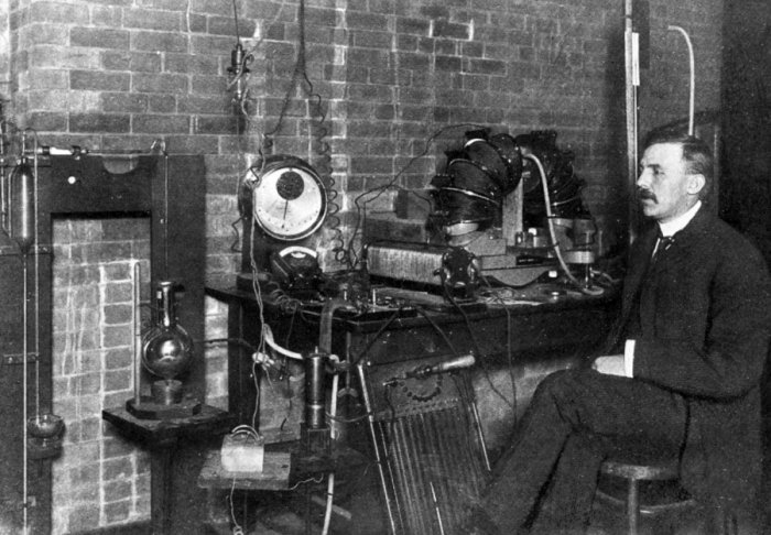 Ernest Rutherford (foto: Rutherford - being the life and letters, Rt. Hon. Lord Rutherford, CC BY 4.0)
