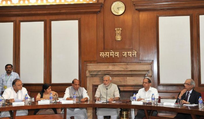 Government of India - cabinet of PM Narendra Modi (photo: Asish Maitra / Press Information Bureau, GODL-India)