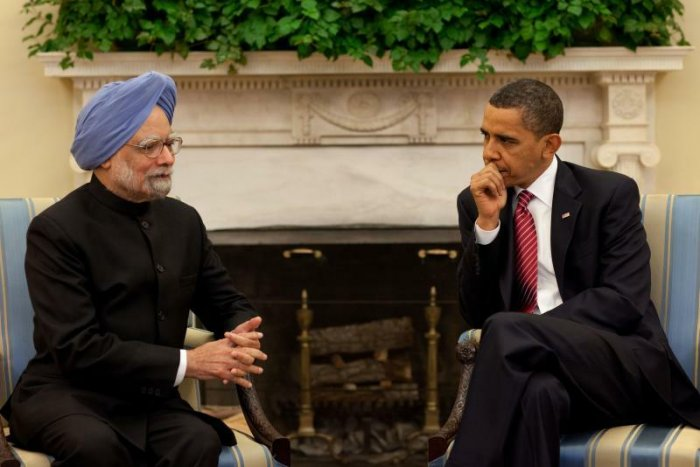 Prime minister Manmohan Singh and US president Barack Obama (photo: Pete Souza, White House, public domain)