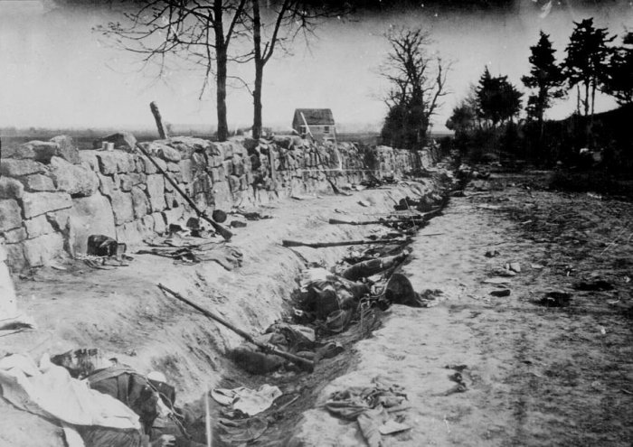 Civil War: Battle of Chancellorsville (photo: Capt. Andrew J. Russell, National Archives, public domain)