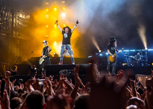 Guns N' Roses, London Stadium, 2017 (ilustrační foto: Raph_PH, CC BY 2.0)