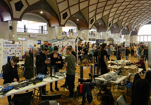 Prague Maker Faire 2018 (foto: Jan Brich, Timixi / CC BY-NC-SA 4.0)